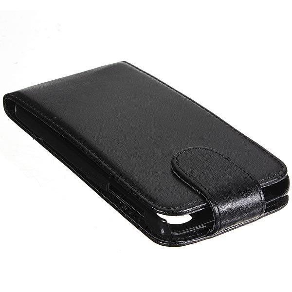 Magnetic Flip Black PU Leather Case Hard Shell For LG Google Nexus 5