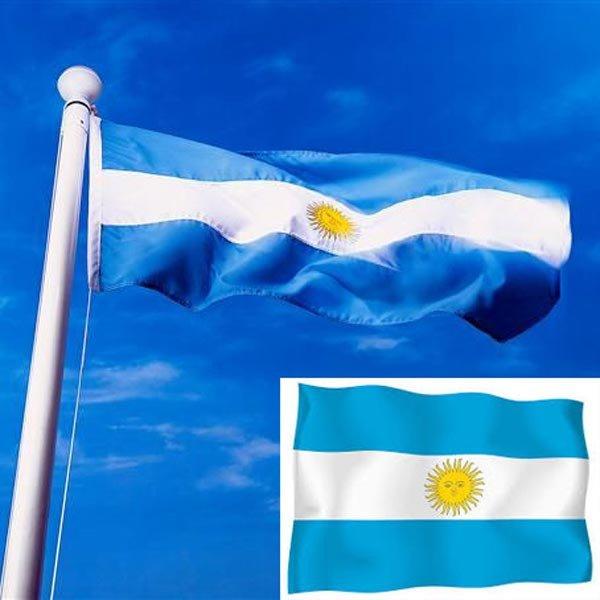 Argentine Large National Flag 5 X 3FT