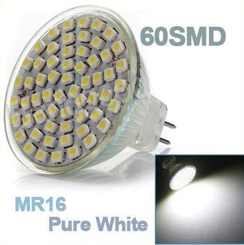 Pure White 3528 60 SMD LED Energy Saving Down Light Lamp