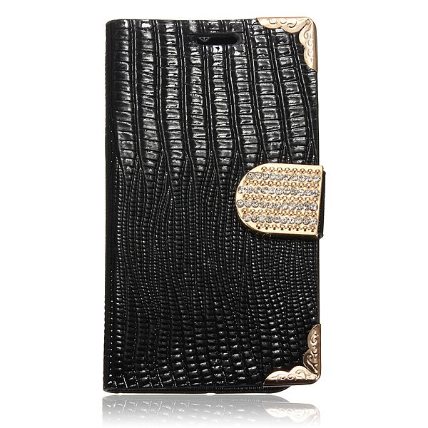 Bling Cuir House Leather Case For Motorola Moto G X1032