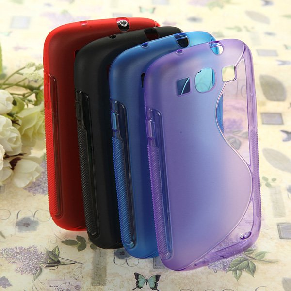 S-Line Soft TPU Gel Case For Samsung Galaxy S3 i9300