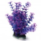 Aquarium Blue Purple Artificial Fish Tank Plastic Water Plants