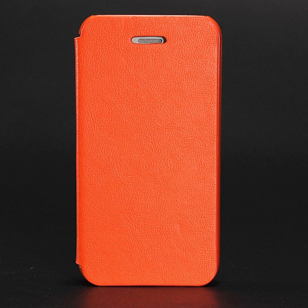 Magnetic Leather Folio Leather Hard Case Cover For iPhone 4 4S