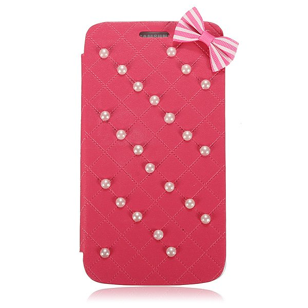 Flip Leather Bowknot Pearl Wallet Case For Samsung Galaxy Note 3 N9000