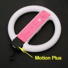 Steering Wheel Handle For Wii Remote Motion Plus Supportive