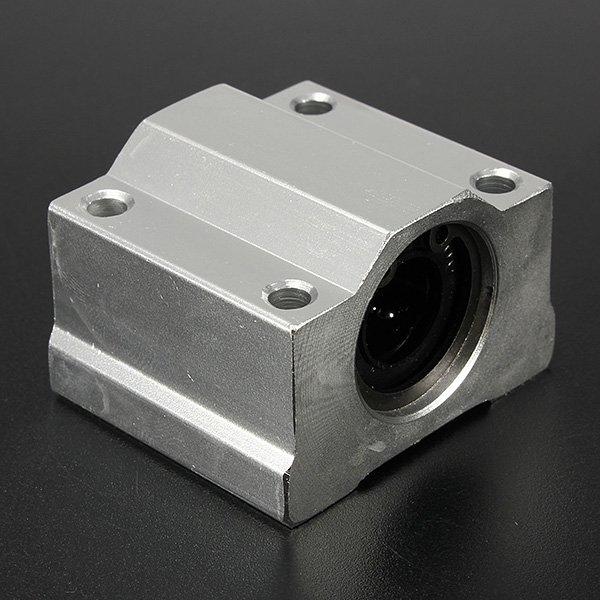 SC12UU Metal 12mm Linear Ball Bearing Motion Bearing For CNC