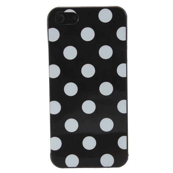 Polka Dots TPU Gel Soft Case Cover Skin For Apple iPhone 5 5G