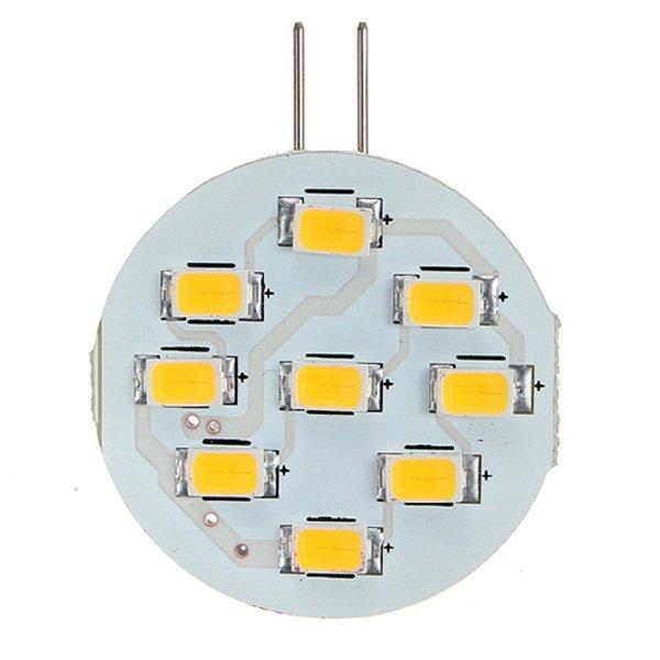 G4 3W LED 9 SMD 5630 Car Warm White Light Bulb Lamp DC 12V