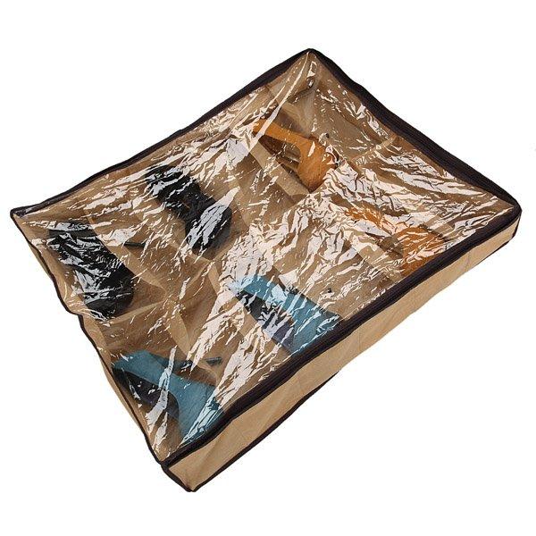 12 Pairs Tidy Under Bed Fabric Shoe Storage Organizer Box Closet Bag