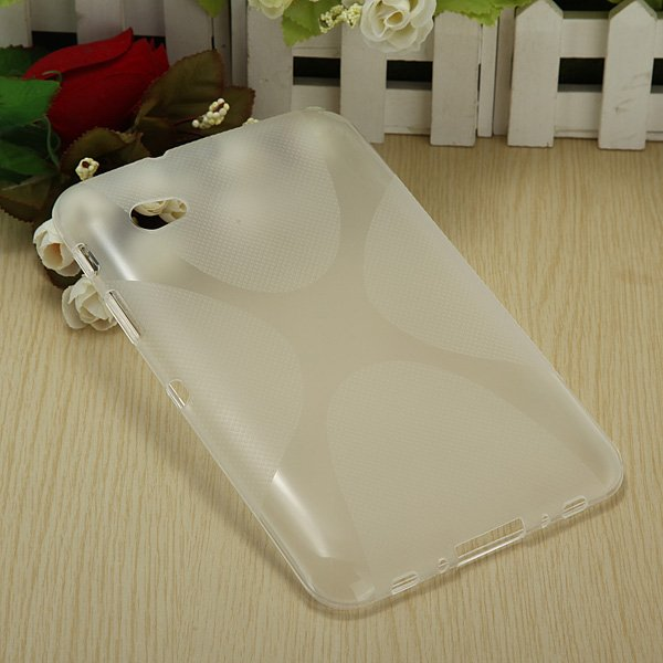 X Line Curve TPU Gel Soft Case Back Cover For Samsung GALAXY P3100