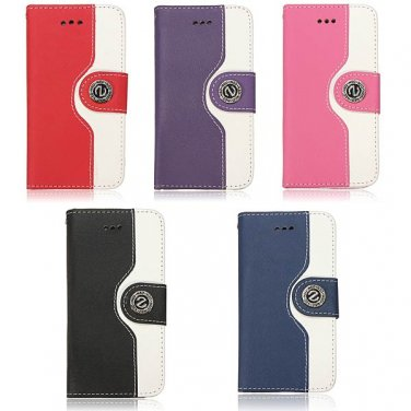 Trendy Design PU Leather Flip Stand Case Cocer For iPhone 5 5S
