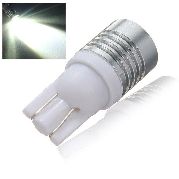 T10 Cree Q5 Wedge LED Car Reverse Backup Light Bulb 7W 12V Pure White
