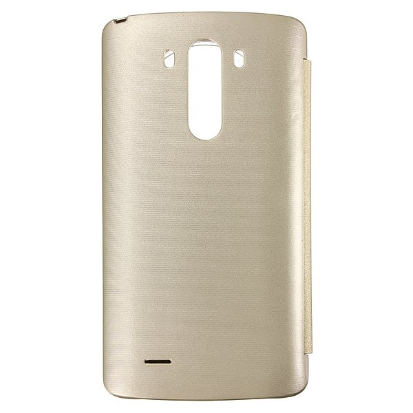 Slim Flip Window View PU Leather Cover Case For LG G3 D850 D855