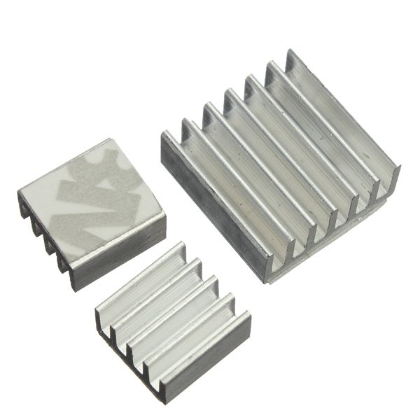30pcs Adhesive Aluminum Heat Sink Cooler Kit For Cooling Raspberry Pi