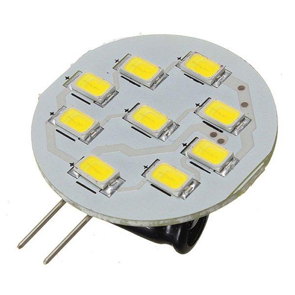 G4 3W LED 9 SMD 5630 Car Pure White Cabinet RV Light Bulb Lamp