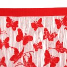 Butterfly String Curtain Tassel Drape For Wall Vestibule Door Window