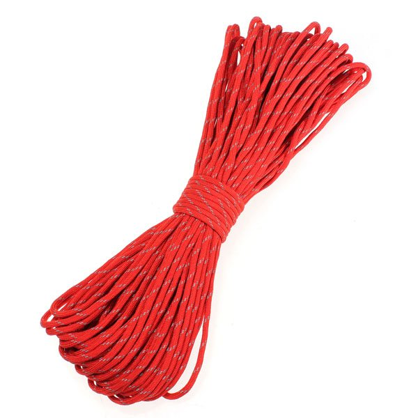 25 Feet 7 Strand Internal Core Reflective Parachute Cord