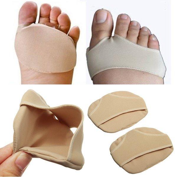 2PCS Sports Fitness Metatarsal Ball Sore Cushions Foot Pads Support