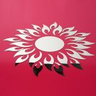 Acrylic 3D Sunflower Mirror Effect Wall Sticker Decal