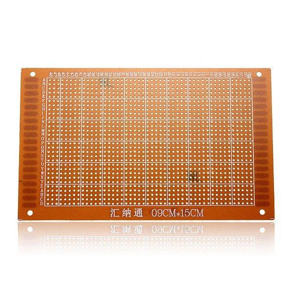 5Pcs 9x15cm PCB Prototyping Printed Circuit Board Breadboard Prototype