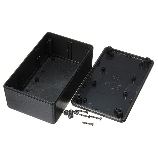 ABS Plastic Electronic Enclosure Project Box Black 103x64x40mm