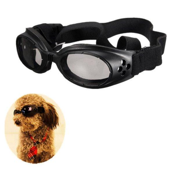 Pet Dog Glasses Eye Wear Goggle UV Sunglasses Adjustable Strap