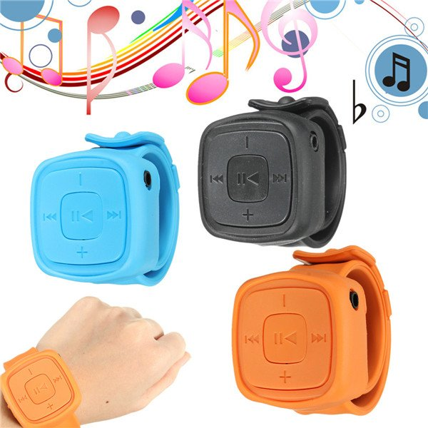 Mini USB MP3 Music Media Player Watch Shape Support 1-32GB Micro SD TF Card