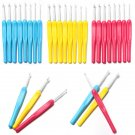 Crochet Hooks Handle Weave Knitting Needles Set