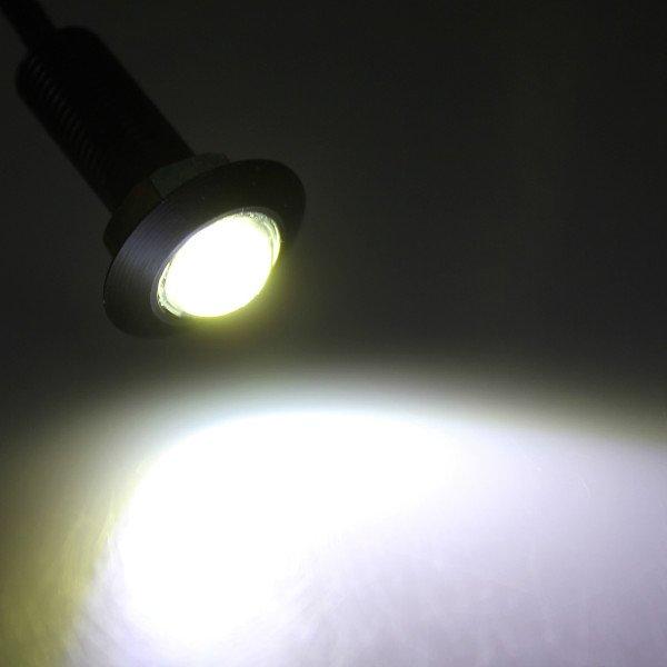 LED Eagle Eye Light Daytime Running DRL Tail Backup Light Car Motor