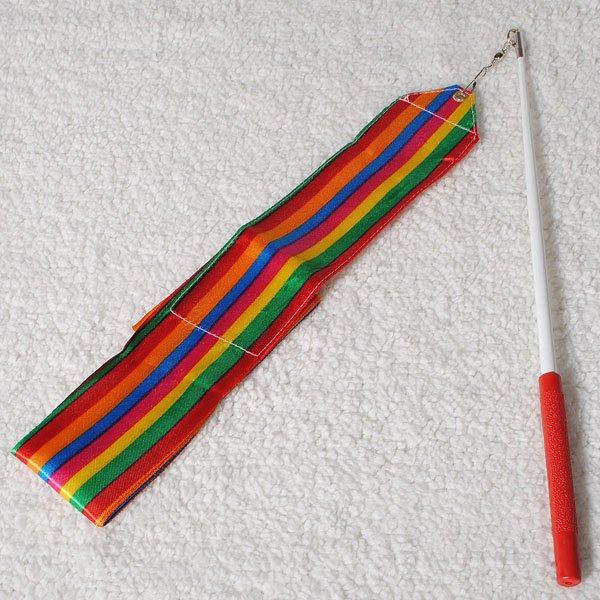 4M Dance Ribbon Gym Rhythmic Art Gymnastic Ballet Streamer Ribbon