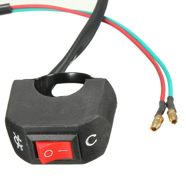 7/8 Inch Motorcycle Scooter Quad ATV Dirt Bike Kill ON-OFF Switch