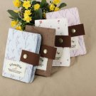 Floral Fabric Card Bag with 20 Places