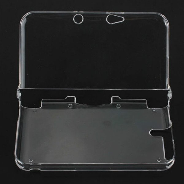 Clear Crystal Hard Case Cover Shell For Nintendo 3DS XL LL