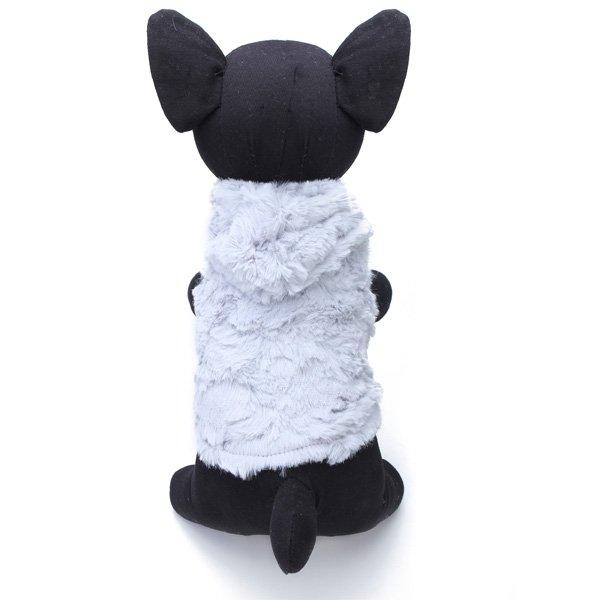 Pet Dog Winter Fleece Vest Puppy Warm Clothes Jacket Coral Coat