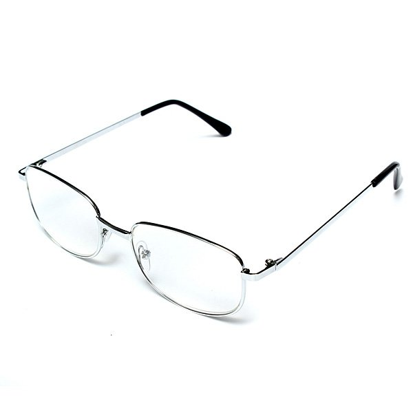 Men Women Light Resin Type Metal Frame Glasses