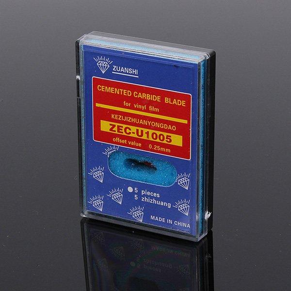 ROLAND Vinyl Cutter Plotter Cemented Carbide Blades 45 Degrees 5pcs