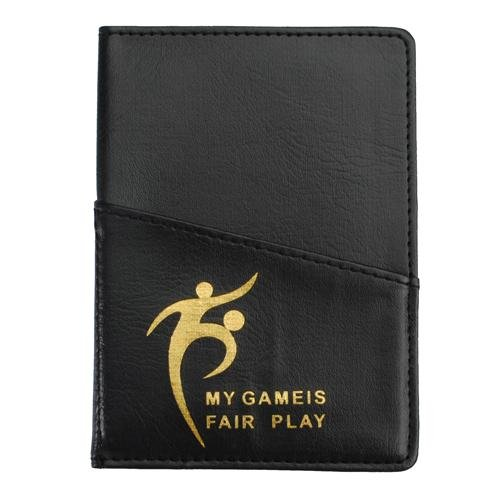 New Soccer Referee Wallet with Red Card and Yellow Card
