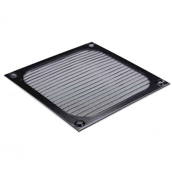 120mm Aluminum Dustproof Cover Dust Filter for PC Fan