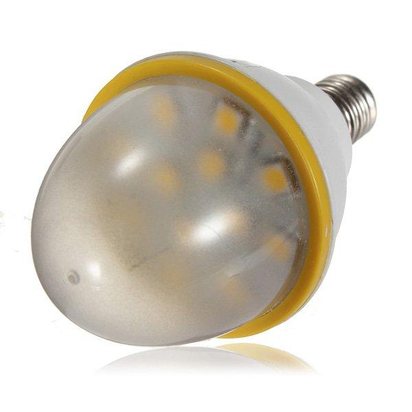 E14 3.5W Warm White 12 SMD 5050 Candle LED Light Bulb 220-240V