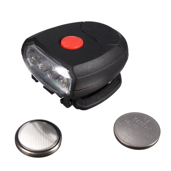 4 LED Clip Cap Head Torch Light Lamp Fishing Headlight Flashlight