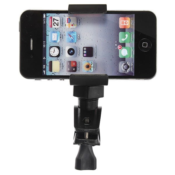 Bicycle Clip Handlebar Stand Mount Holder Cover For iPhone4 5