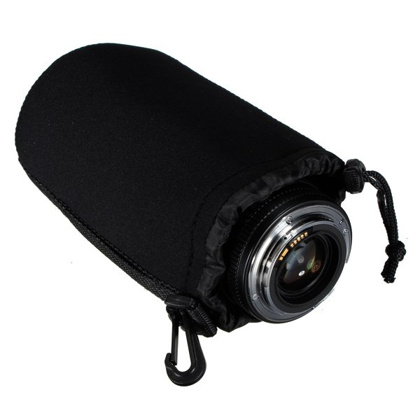 New Soft Neoprene Waterproof DSLR Camera Lens Bag Case