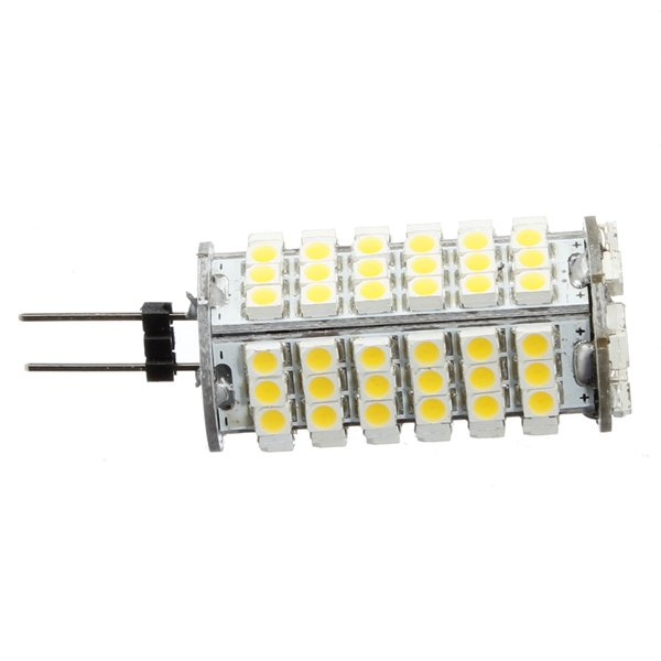 G4 6W Warm White 510LM 102 SMD 3528 LED lights Bulb DC 12V