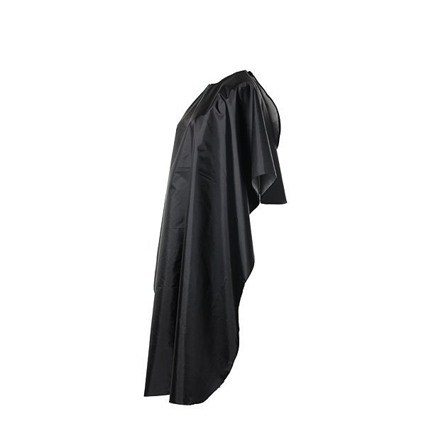 Black Waterproof Hair Cutting Gown Cape Hairdresser Cloth