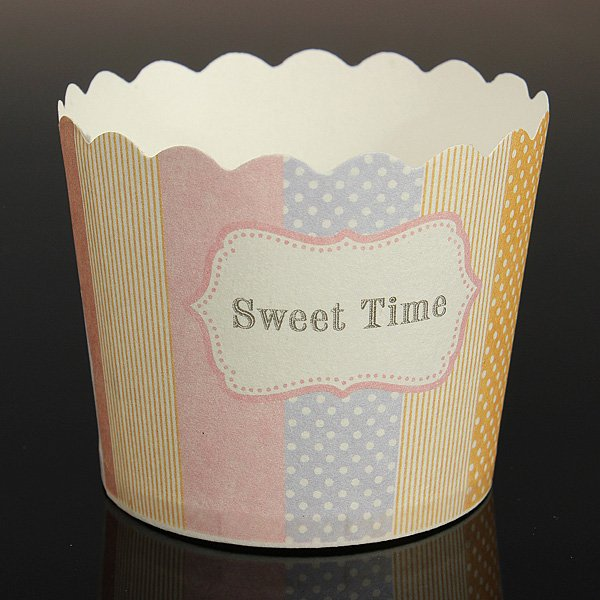 50pcs Cupcake Muffin Candy Nut Snack Dessert Baking Cups