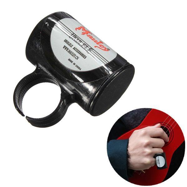 Finger Shot Rhythm Ring Percussion Sand Shaker For Ukulele