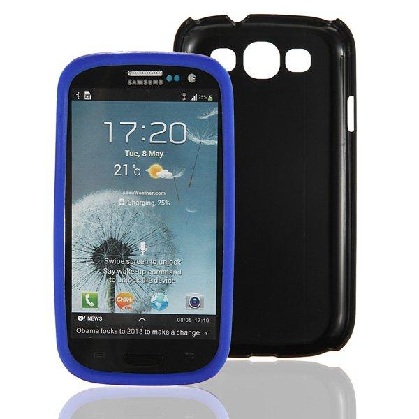 Hybrid Soft Silicone Matte Hard Case For Samsung Galaxy i9300