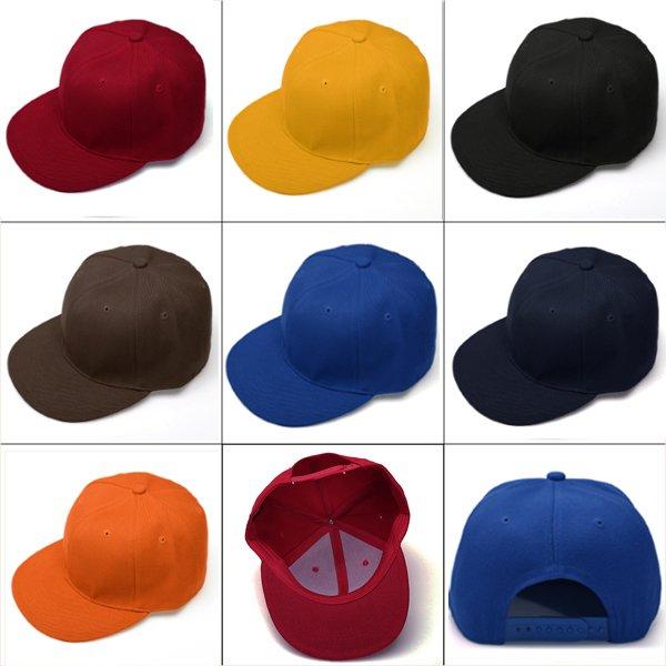 Fashion Hats Hip-Hop Dance Baseball Cap 7 Colors