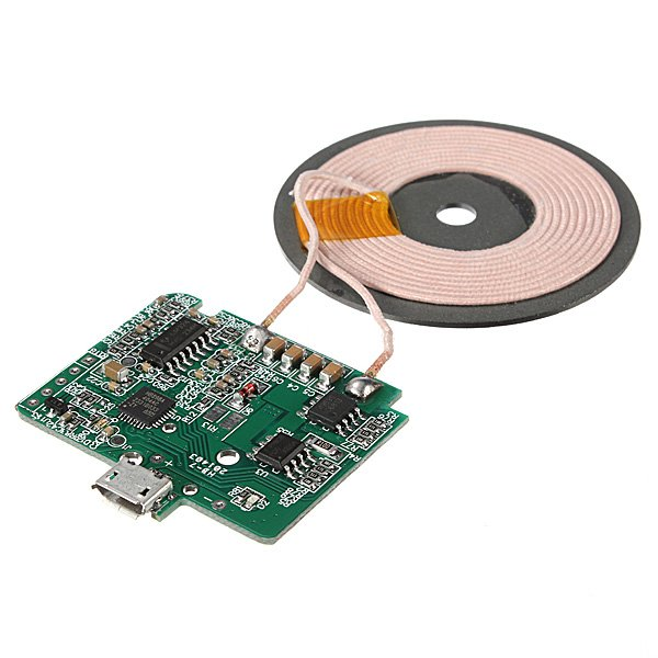 Qi Wireless Charger PCBA Circuit Board With Coil Charging For Cell Phone