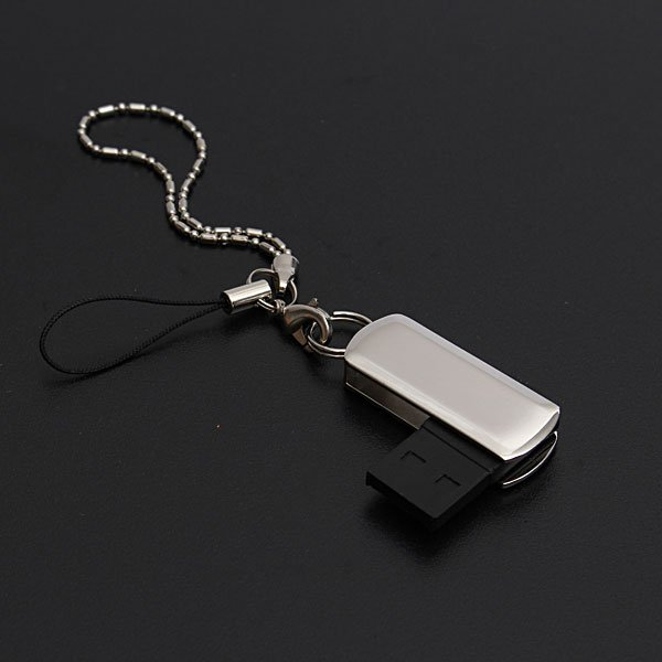 8GB Swivel USB 2.0 Crystal Flash Drive Memory Storage Thumb U Disk